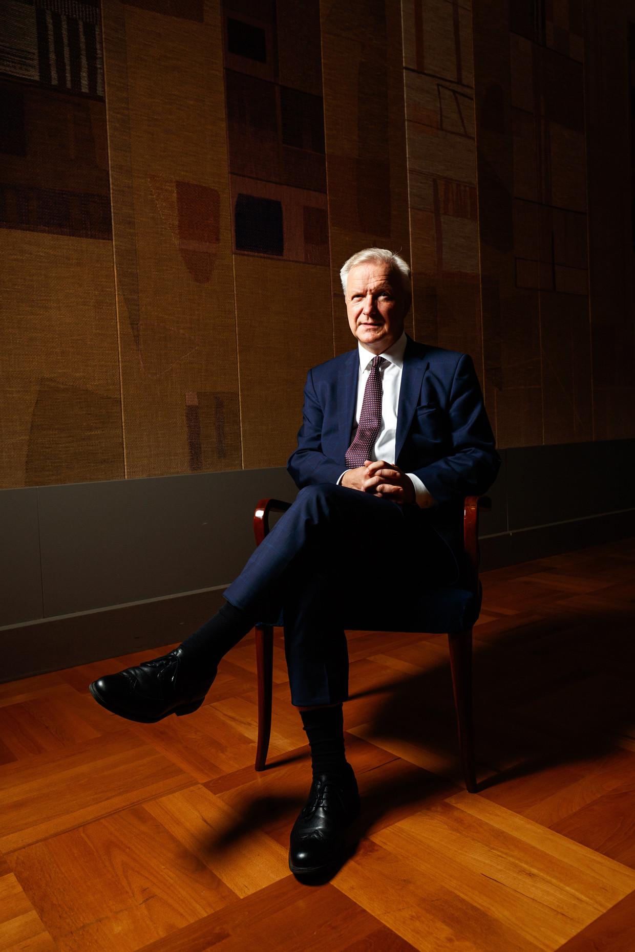 Olli Rehn, voormalig Europees Commissaris: 'De coronacrisis gunt ons geen uitstel. Er moet een drijvende kracht zijn.'