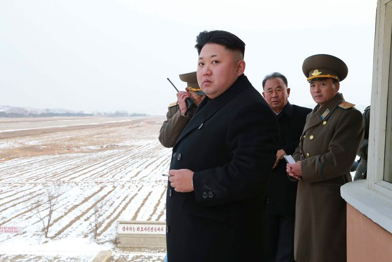 Kim Jong-un. Beeld reuters