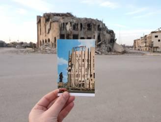 Voor en na: oude postkaarten tonen vernieling door IS