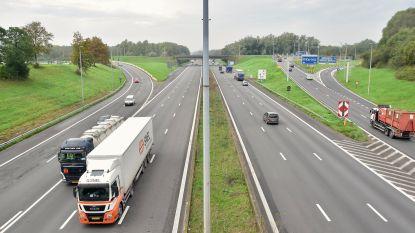 Dodelijk ongeval op E17 in Kortrijk: vrouw (35) stapt 's nachts uit op pechstrook en wordt aangereden