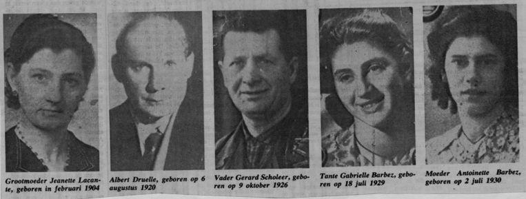 De familie van Scholeer Beeld HUMO