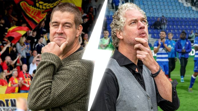Clubwatchers Dennis Arentsen en Vincent de Vries