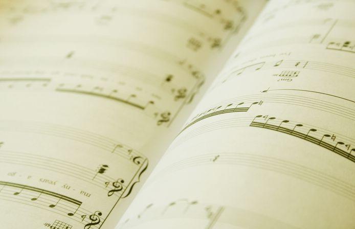 stockagenda stockfoto stockadr muziek noten muzikaal concert optreden