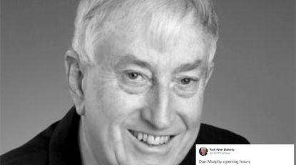 Nobelprijswinnaar blundert op Twitter en vraagt zijn 30.000 volgers de openingsuren van drankhandel