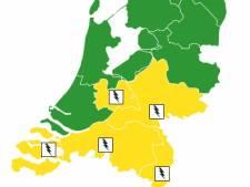 Kans op pittig onweer in de regio, code geel afgegeven