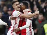 Samenvatting | Ajax zwijnt in de slotfase, maar slaat gat na winst op Sparta Rotterdam