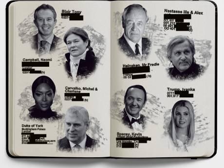 Ook de Heinekens hadden een plekje in het boekje van Epstein