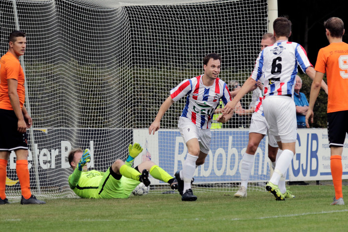 Doelpunt Sam Wassenberg (1-0)