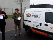 FNV protesteert tegen onbetaald verplicht werk voor deur leerwerkbedrijf in Spijkenisse