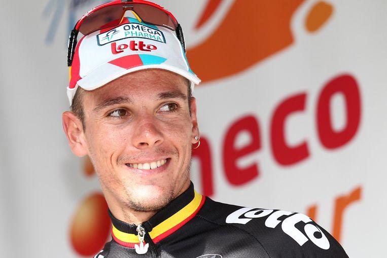 Gilbert reed tussen 2009 en 2011 drie jaar voor Omega Pharma-Lotto.