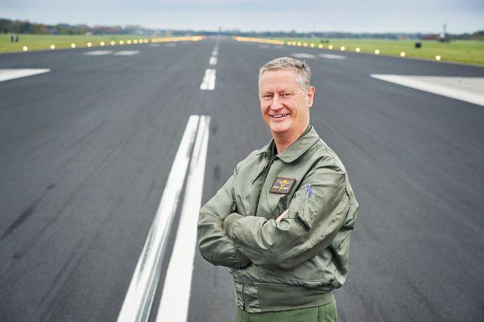 De nieuwe commandant van de vliegbasis Volkel Marcel van Egmond.
