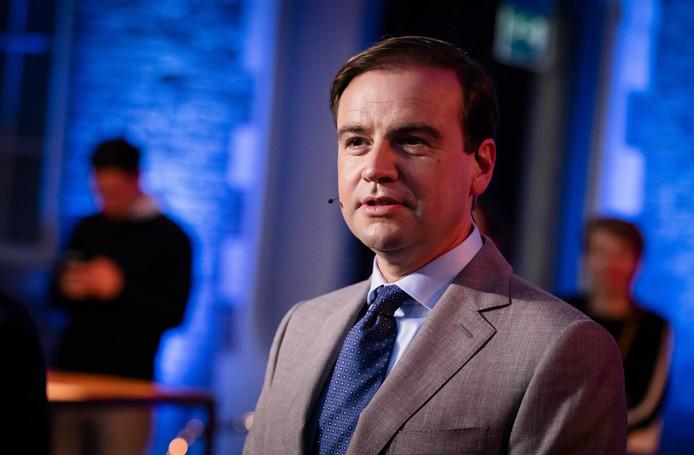 Malik Azmani (VVD), lijsttrekker in Europa.