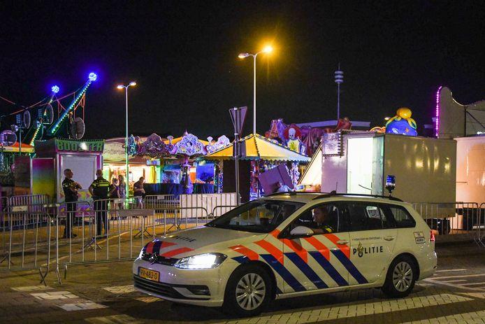 Kermis in Alphen op het Aarplein moest maandagavond eerder sluiten