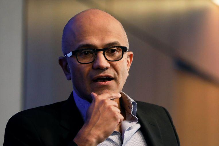 Microsoft-ceo Satya Nadella.
