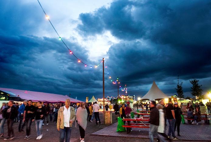 Festival Strand op vrijdagavond