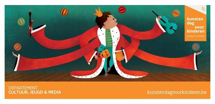 De Kunstendag voor Kinderen kon door corona niet doorgaan op 15 november.