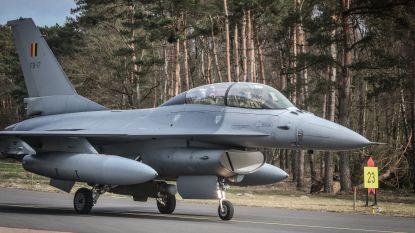 """Kolonel die vervangingsprocedure F16's leidt, vindt studie """"overroepen"""""""