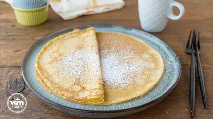 Lekkere pannenkoeken voor deze middag!