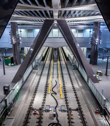 Geflopte metropoortjes CS dit weekend weer in gebruik
