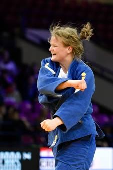 Goud voor Heeswijkse judoka Van Dijke bij debuut op EK