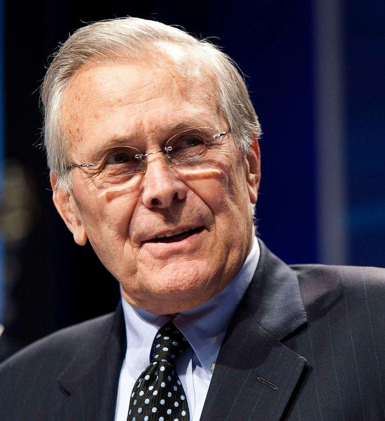 Donald Rumsfeld Beeld Reuters