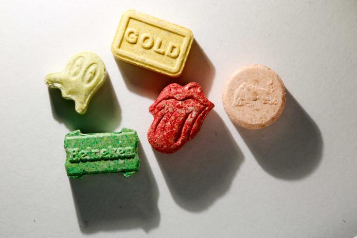 Xtc-pilletjes in alle vormen en kleuren.