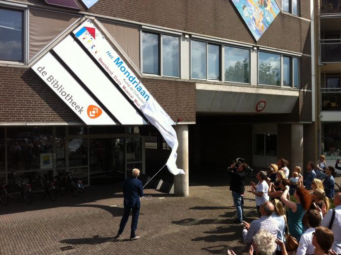 Het Mondriaanhuis in Uden.