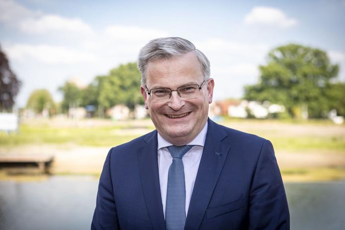 Gedeputeerde Gert Harm ten Bolscher.
