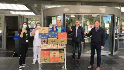 Voetbalclub VK Valaarhof schenkt overschotten van cafetaria aan AZ Middelheim