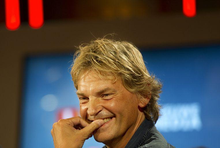 Matthijs van Nieuwkerk, gisteren te zien in een documentaire over zijn DWDD. Beeld ANP