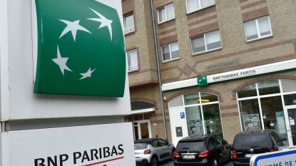 Technische problemen van de baan bij BNP Paribas Fortis