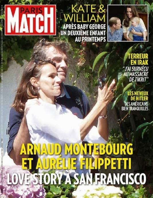 Capture d'écran: Paris Match à paraître jeudi