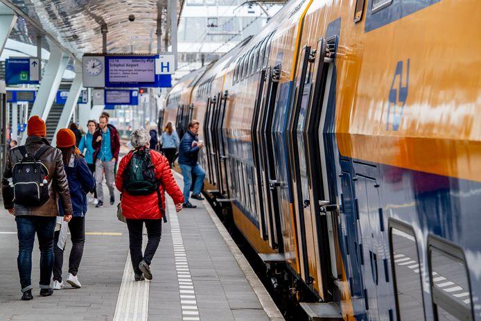Foto ter illustratie. Arnhem Centraal.