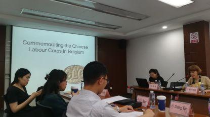 Chinese studenten onderzoeken verblijf landgenoten tijdens WO I