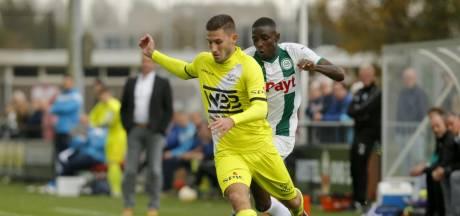 Tegen Jong FC Groningen maakt Hoek in de slotfase een keer niet de winnende