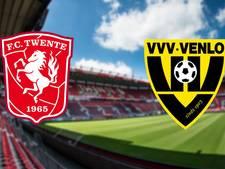 FC Twente thuis tegen promovendus VVV-Venlo