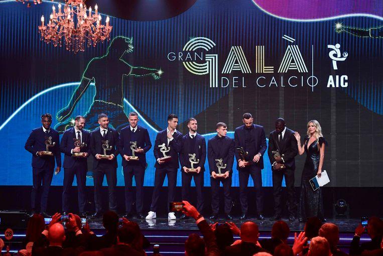 De spelers die in de prijzen vielen: Duvan Zapata (spits van Atalanta), Giorgio Chiellini (verdediger Juventus), Alexander Kolarov (verdediger AS Roma), Josip Ilicic (middenvelder Atalanta), Cristiano Ronaldo, Miralem Pjanic (middenvelder Juventus), Nicolo Barella (middenvelder Inter), Samir Handanovic (keeper Inter) en Kalidou Koulibaly (verdediger Napoli).