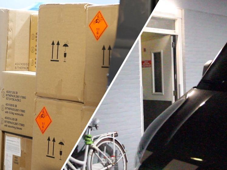 650 kilo illegaal vuurwerk gevonden in kelderboxen in Delft