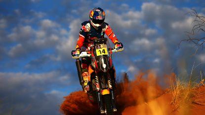 Sam Sunderland (KTM) steekt eindzege bij motorrijders op zak