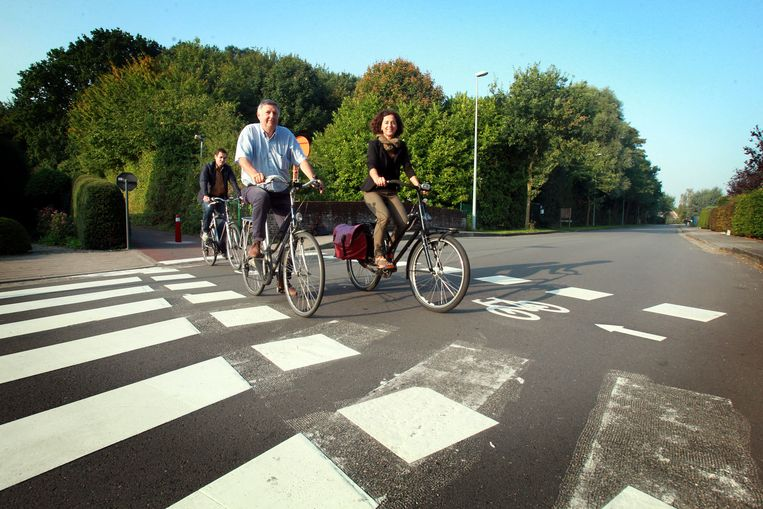 Oversteken met de fiets wordt heel wat veiliger.