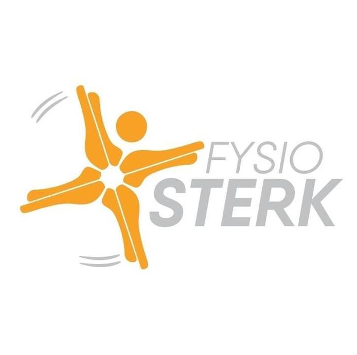 Het nieuwe bedrijfslogo van FysioSterk