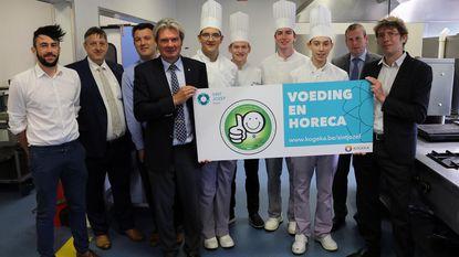 Sint-Jozef en CVO HIK krijgen 'Smiley' voor voedselveiligheid