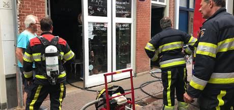 Felle brand veroorzaakt rook- en waterschade aan panden in centrum van Den Bosch