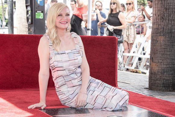 Kirsten Dunst krijgt ster op de Walk Of Fame.
