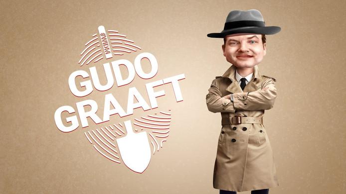 'molloot' Gudo Tienhooven speurt naar het antwoord op de vraag Wie is de Mol? in zijn videorubriek Gudo Graaft