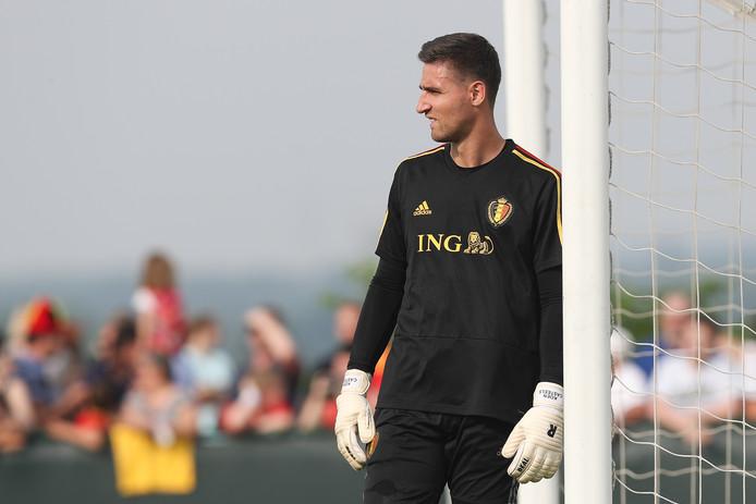 Koen Casteels gaat met België naar het WK.