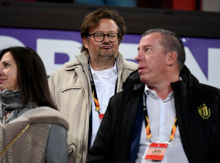 Coucke en Luc Devroe, verantwoordelijk voor de transfers.
