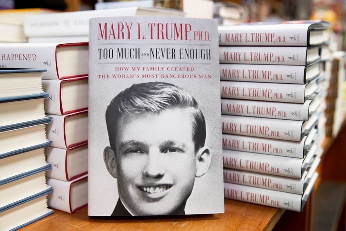 """""""Too Much and Never Enough: How My Family Created the World's Most Dangerous Man"""", de Mary Trump"""