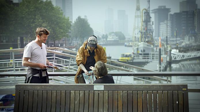 Beau in Rotterdam op pad met Patrick, al jaren zwaar verslaafd aan coke en heroïne.