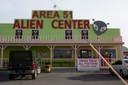 Area 51 trekt veel toeristen aan.